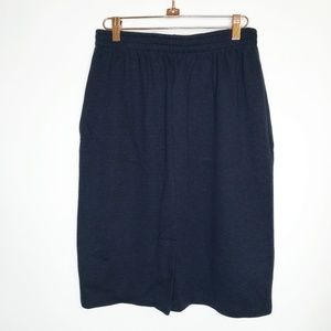 Weekenders Sweatshirt Skirt Straight Elastic waist